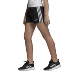 Adidas Girls Essentials 3-Stripes Short - BLACK/WHITE Adidas Girls Essentials 3-Stripes Short - BLACK/WHITE