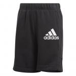 Adidas Boys Badge of Sport Short - Black/White Adidas Boys Badge of Sport Short - Black/White