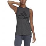 Adidas Womens Winners Tank Top - Black Melange Adidas Womens Winners Tank Top - Black Melange