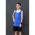 Go Sport Boys Tech Singlet - BLUE Go Sport Boys Tech Singlet - BLUE