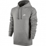 Nike Men's Sportswear Hoodie - Dark Grey Heather Nike Men's Sportswear Hoodie - Dark Grey Heather