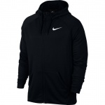 Nike Men's Dry Training Full-Zip Hoodie - BLACK Nike Men's Dry Training Full-Zip Hoodie - BLACK