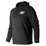 New Balance Men's Essentials 90s Hoodie - BLACK New Balance Men's Essentials 90s Hoodie - BLACK