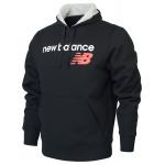 New Balance Mens Core Fleece Hoodie - Black