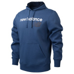 New Balance Mens Core Fleece Hoody - Stone Blue New Balance Mens Core Fleece Hoody - Stone Blue