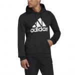 Adidas Mens MH BOS Fleece Hoodie - Black Adidas Mens MH BOS Fleece Hoodie - Black