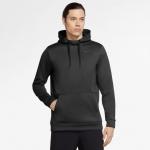 Nike Mens Therma Pullover Hoodie - BLACK Nike Mens Therma Pullover Hoodie - BLACK