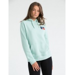 Russell Athletic Women's Stacked Hoodie - SEA GLASS Russell Athletic Women's Stacked Hoodie - SEA GLASS