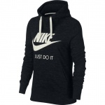 Nike Women's Sportswear Gym Vintage Hoodie - BLACK/SAIL Nike Women's Sportswear Gym Vintage Hoodie - BLACK/SAIL