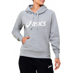 ASICS Womens Fleece Hoodie - GREY HEATHER ASICS Womens Fleece Hoodie - GREY HEATHER