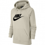Nike Womens Sportswear Essential Hoodie - Bone/Black Nike Womens Sportswear Essential Hoodie - Bone/Black