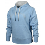 New Balance Womens Pull Over Hoodie - UV GLO HEATHER New Balance Womens Pull Over Hoodie - UV GLO HEATHER