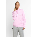 Champion Womens SCRIPT Hoodie - Cotton Gumball Pink Champion Womens SCRIPT Hoodie - Cotton Gumball Pink
