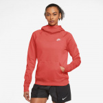 Nike Womens Sportswear Essential Pullover Hoodie - MAGIC EMBER/WHITE Nike Womens Sportswear Essential Pullover Hoodie - MAGIC EMBER/WHITE