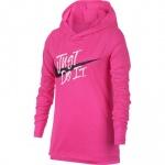 Nike Girls DRI-FIT Hooded Top - LASER FUCHSIA Nike Girls DRI-FIT Hooded Top - LASER FUCHSIA