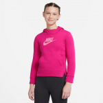 Nike Girls PE Pullover Hoodie - FIREBERRY/SUNSET PULSE Nike Girls PE Pullover Hoodie - FIREBERRY/SUNSET PULSE