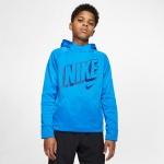 Nike Boys Therma Graphic Training Pullover Hoodie - BLUE HERO/GAME ROYAL Nike Boys Therma Graphic Training Pullover Hoodie - BLUE HERO/GAME ROYAL