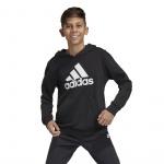 Adidas Boys MH BOS PO Hoodie - Black/White Adidas Boys MH BOS PO Hoodie - Black/White