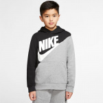 Nike Boys Sportswear Pullover Hoodie - BLACK/CARBON HEATHER Nike Boys Sportswear Pullover Hoodie - BLACK/CARBON HEATHER