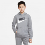 Nike Boys Sportswear Club Fleece Hoodie - CARBON HEATHER Nike Boys Sportswear Club Fleece Hoodie - CARBON HEATHER