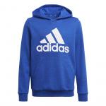 Adidas Boys Essentials Big Logo Hoodie - Team Royal Blue/White Adidas Boys Essentials Big Logo Hoodie - Team Royal Blue/White