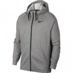 Nike Men's Therma Full-Zip Training Hoodie - DK GREY HEATHER - MAY 19 Nike Men's Therma Full-Zip Training Hoodie - DK GREY HEATHER - MAY 19