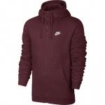 Nike Men's Full-Zip Sportswear Hoodie - NIGHT MAROON Nike Men's Full-Zip Sportswear Hoodie - NIGHT MAROON