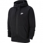 Nike Men's Sportswear Club Full-Zip Hoodie - BLACK Nike Men's Sportswear Club Full-Zip Hoodie - BLACK