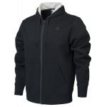 New Balance Mens Core Fleece Full Zip Hoodie - BLACK New Balance Mens Core Fleece Full Zip Hoodie - BLACK