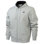 New Balance Mens Core Fleece Full Zip Hoodie - Athletic Grey New Balance Mens Core Fleece Full Zip Hoodie - Athletic Grey