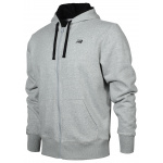 New Balance Mens Full-Zip Hoodie - Athletic Grey New Balance Mens Full-Zip Hoodie - Athletic Grey