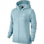 Nike Women's Full-Zip Sportswear Hoodie - Topaz Mist Nike Women's Full-Zip Sportswear Hoodie - Topaz Mist