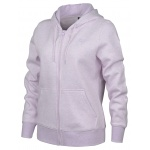 New Balance Women's Volume Fleece Full-Zip Hood - Violet Glo Heather New Balance Women's Volume Fleece Full-Zip Hood - Violet Glo Heather