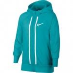 Nike Girls Full-Zip Sportswear Hoodie - CABANA/HTR/WHITE Nike Girls Full-Zip Sportswear Hoodie - CABANA/HTR/WHITE