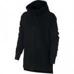 Nike Women's Full-Zip Training Hoodie - BLACK/BLACK Nike Women's Full-Zip Training Hoodie - BLACK/BLACK