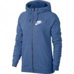 Nike Women's Sportswear Rally Full-Zip Hoodie - Indigo Storm Nike Women's Sportswear Rally Full-Zip Hoodie - Indigo Storm
