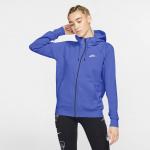 Nike Womens Essential Full-Zip Fleece Hoodie - Saphire Nike Womens Essential Full-Zip Fleece Hoodie - Saphire