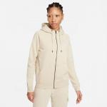 Nike Womens Essential Full-Zip Fleece Hoodie - RATTAN/WHITE Nike Womens Essential Full-Zip Fleece Hoodie - RATTAN/WHITE