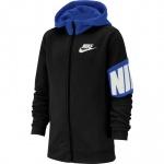 Nike Boys Core Amplify Full-Zip Hoodie - Black/Game Royal Nike Boys Core Amplify Full-Zip Hoodie - Black/Game Royal