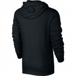 Image 2: Nike Men's Full-Zip Sportswear Hoodie - BLACK