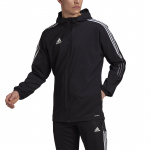 Adidas Mens Tiro 21 Windbreaker - BLACK Adidas Mens Tiro 21 Windbreaker - BLACK