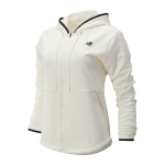 New Balance Women's Relentless Fleece Full Zip Jacket - SEA SALT New Balance Women's Relentless Fleece Full Zip Jacket - SEA SALT