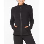 2XU Womens Form Jacket - BLACK/BLACK 2XU Womens Form Jacket - BLACK/BLACK