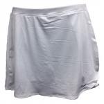 Global Junior Netball Skort - White Global Junior Netball Skort - White