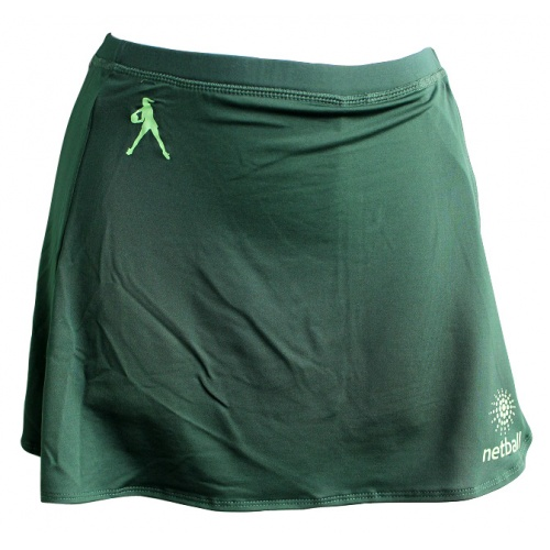 Global Junior Netball Skort - Green