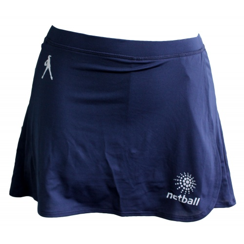 Global Senior Netball Skort - Navy