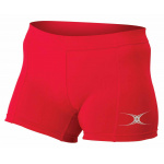 Gilbert Eclipse Netball Short - RED Gilbert Eclipse Netball Short - RED