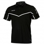 Mitre Primero Polo Shirt - BLACK/WHITE Mitre Primero Polo Shirt - BLACK/WHITE