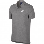 Nike Men's Sportswear Matchup Polo - Dark Grey Heather Nike Men's Sportswear Matchup Polo - Dark Grey Heather