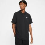 Nike Mens Sportswear Polo - BLACK/WHITE Nike Mens Sportswear Polo - BLACK/WHITE